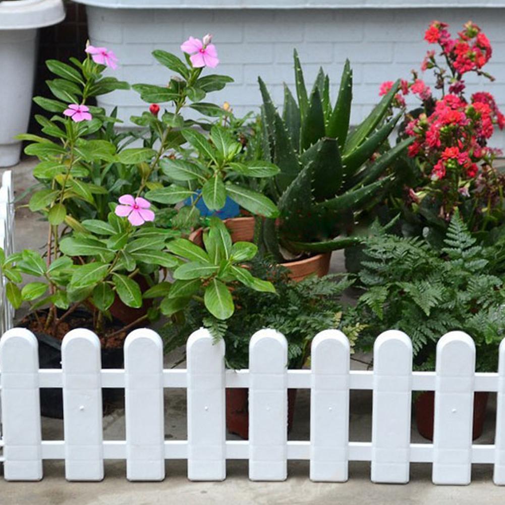 фото заборчика для цветов своими руками переносят