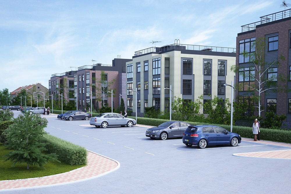 парковки в жилом комплексе