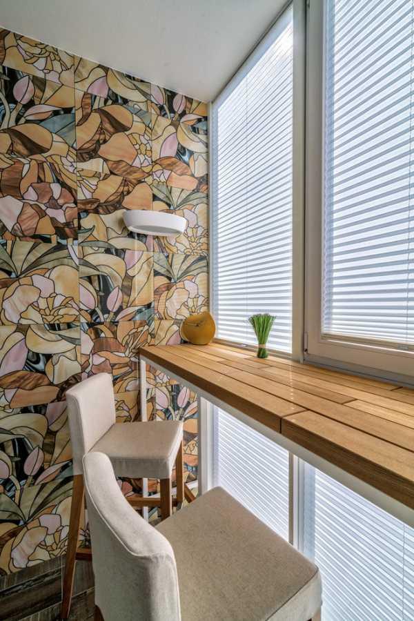 Способы отделки стен балкона фото